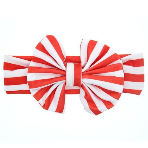8PCS/Lot Bow Bunny Ear Headband Bulk Baby Girl Kids Hair Accessories Band Headwear Hairbands Gift-inSowni