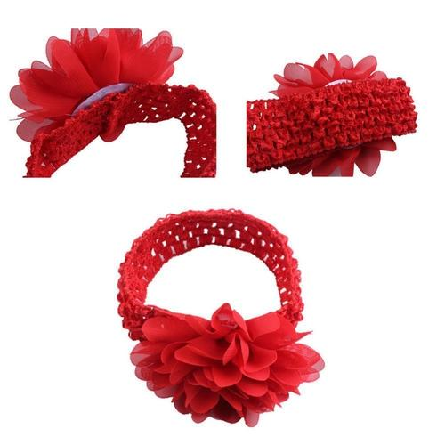 PLASTIC HAIR CLAW CHIFFON GLITTER RUFFLE RIBBON SELECT COLOR