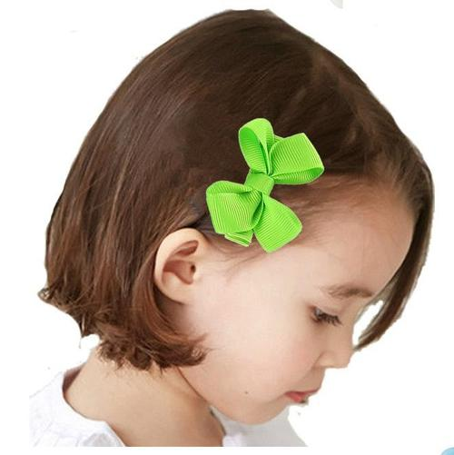 "inSowni 10 Pairs 2"" Hair Bow Clips Barrettes Pins Grosgrain Ribbon Accessories For Baby Toddlers Girls Teens Kids …-Baby Girl Hair Clips-inSowni"