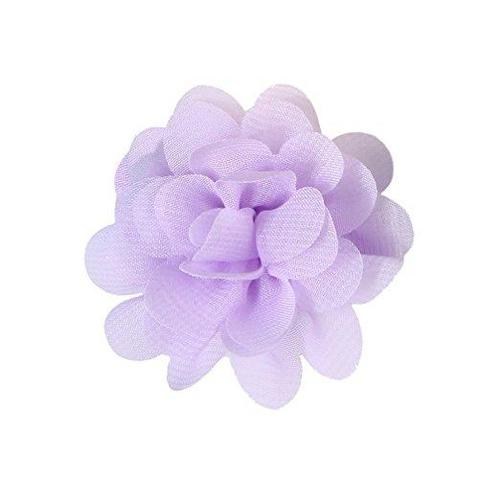 inSowni 10 Pairs Alligator Hair Clips Grosgrain Bow Chiffon Flower for Baby Girl Toddlers-Baby Girl Hair Clips-inSowni