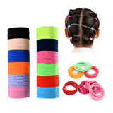 inSowni 120 Pack Solid Nylon Elastics Hair Ties Bands Scrunchies Pigtail Ponytail Holders for Baby Girls Toddlers Infants Kids Thin Hair-inSowni