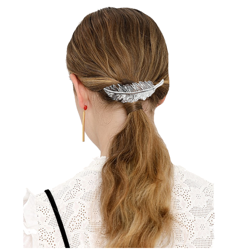 inSowni 12pcs Alloy Hair Clips Barrettes Pins Styling Accessories Star Butterfly Moon Leaf for Women Girls-Women Hair Clips-inSowni