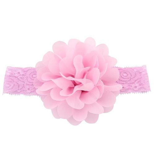 inSowni 12PCS/Lot Chiffon Flower Lace Headbands Hair Bands for Baby Girl Toddlers Infants Kids Children DIY Accessories-Baby Flower Headbands-inSowni