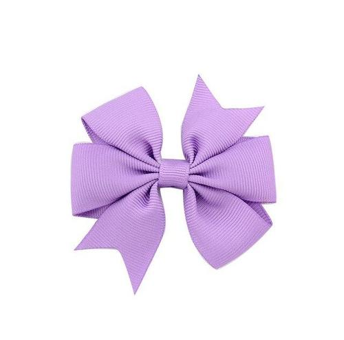 "inSowni 1pc Grosgrain Ribbon 3"" Solid Bow Alligator Hair Clips Barrettes Pins Hairgrips Accessories for Baby Girl Toddlers Kids-Baby Girl Hair Clips-inSowni"