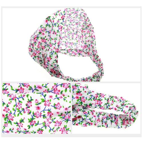 inSowni 2019 1pc Floral Flower Headscarf Hairbands Turban Headbands Accessories for Baby Girls Toddlers Kids Children-Headbands-inSowni