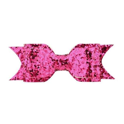 inSowni 2019 1pc Sequin Glitter Bow Alligator Hair Clips Barrettes Accessories Hairgrips for Baby Girls Toddlers Kids Children-Hair Clips-inSowni
