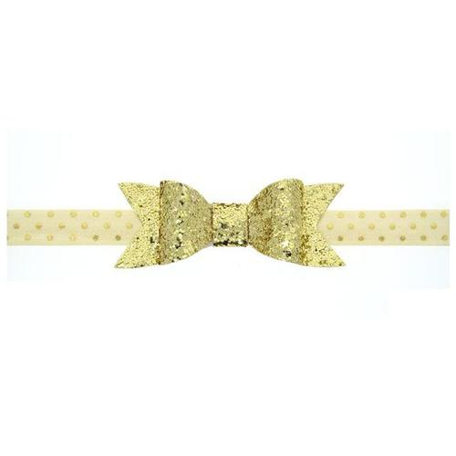 "inSowni 2019 New 1pc 4"" Glitter Sequin Bow Stretchy Headbands Hairbands Hair Accessories for Baby Girls Toddlers Kids Children-Headbands-inSowni"