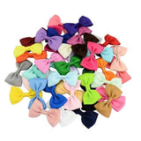"inSowni 20PCS 2.8"" Grosgrain Ribbon Bow Alligator Hair Clips Hairgrips Barrettes Accessories for Baby Girl Toddlers Kids Infants-inSowni"