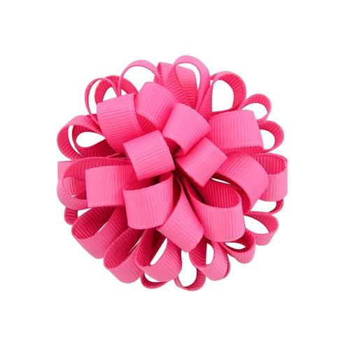 "inSowni 20pcs/Lot 3"" Inch Grosgrain Ball Elastic Hair Bow Tie Rope Ring Band Ponytail Holder Flower Headbands Accessories for Baby Toddler Girls Kids Children Women-Baby Girl Hair Ties-inSowni"