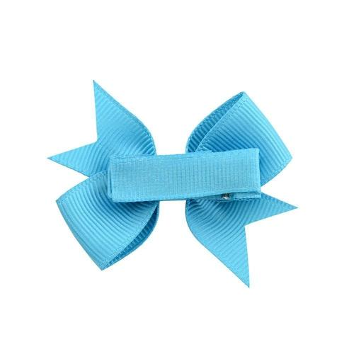 "inSowni 20Pcs/Lot Grosgrain 2"" Hair Bow Covered Alligator Clips for Baby Girl Toddlers Kids Infant Children Handmade Barrettes Hair Accessories-Baby Girl Hair Clips-inSowni"