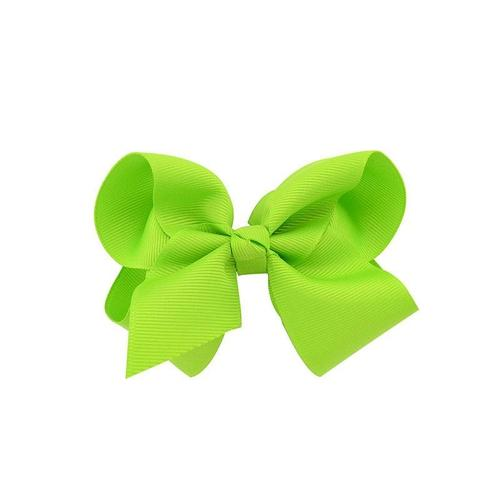 "inSowni 20Pcs/Lot Grosgrain 4"" Alligator Solid Hair Bow Clips for Baby Girl Toddlers Kids Infant Children Handmade Barrettes Hair Accessories-Baby Girl Hair Clips-inSowni"