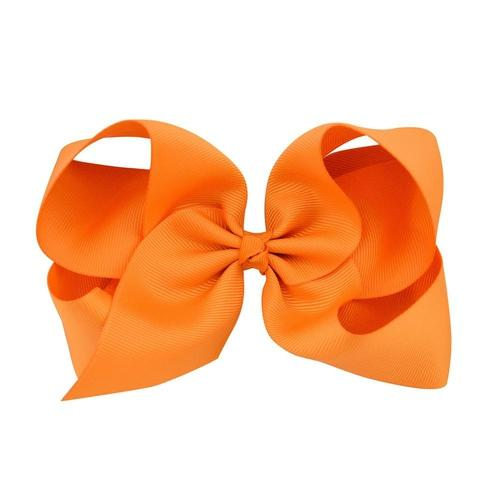 "inSowni 20Pcs/Lot Grosgrain 6"" Big Large Bow Hair Clips for Baby Girl Toddlers Kids Children Women Handmade Barrettes Hair Accessories-Baby Girl Hair Clips-inSowni"