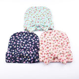 inSowni 3PCS/Lot Flower Bonnet Hat Cap with Big Bow For Baby Girl Infant Newborn Hair Accessories-baby girl hat-inSowni