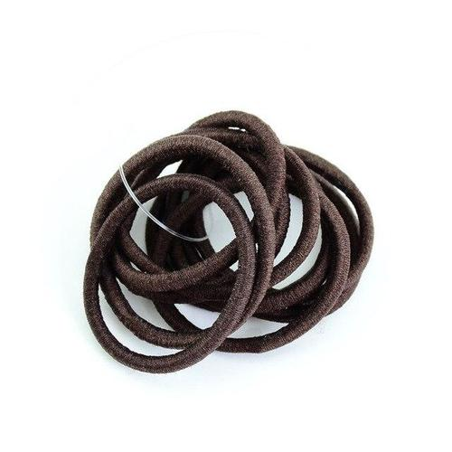 inSowni 60 Pack Solid Elastics Nylon Hair Ties Bands Ropes Ponytail Holders Headbands Accessories for Baby Girls-Hair Ties-inSowni