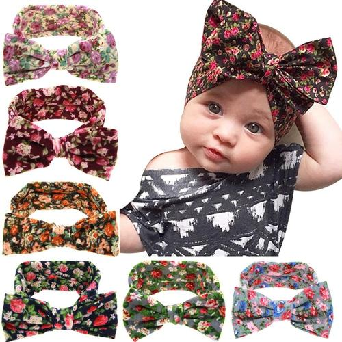 6 Pcs Girl Hairband Toddler Baby Hairband Heawear Floral Headband Accessories