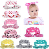 inSowni 8PCS/Lot Polka Dot Star Butterfly Heart Print Headband Bulk for Baby Girl Kids Toddlers Hair Accessories Headwear Bands-inSowni