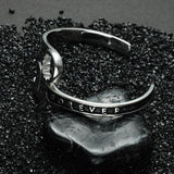 Men Punk Stainless Steel Wrench Bracelet FOREVE Mechanic Spanner Bangles Wristband Cuff-Women Bracelet-inSowni