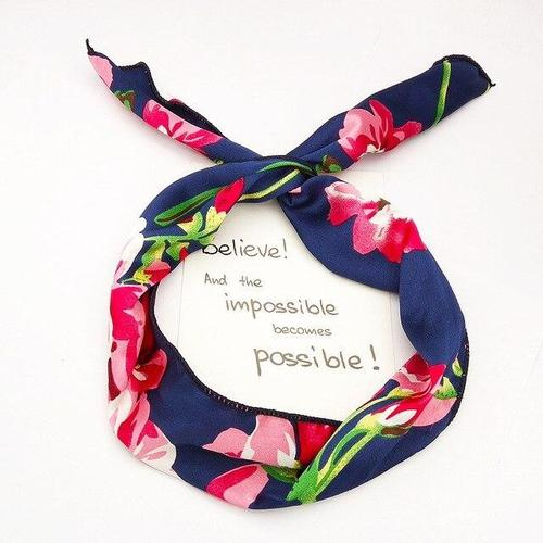 Women Lady Girl Floral Emoji Checks Plaids Polka Flower Criss Cross Hair Hoop Headband Headwrap Turban Sport Yoga Running GYM-Women Headbands-inSowni