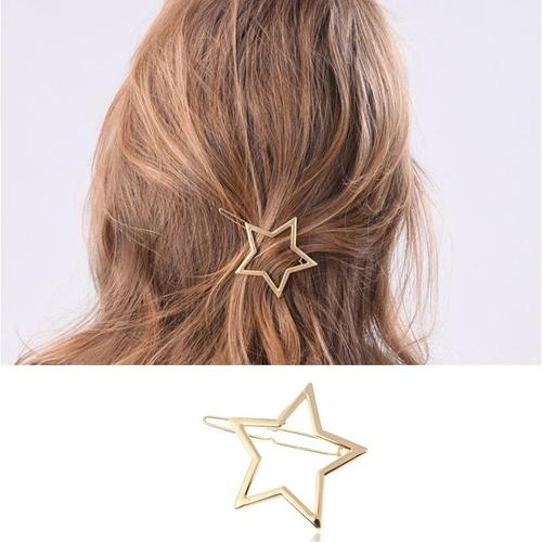 Women Lady Girl Korean Fashion Bowknot Heart Star Flower Hair Clip Snap Barrette Comb Stick Claw Crab Clamp Hairpin-Women Hair Clips-inSowni