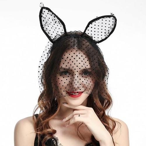 Women Lady Girl Sexy Bunny Rabbit Cat Ear Hair Hoop Headband Hairband Party Costume-Hair Hoops-inSowni