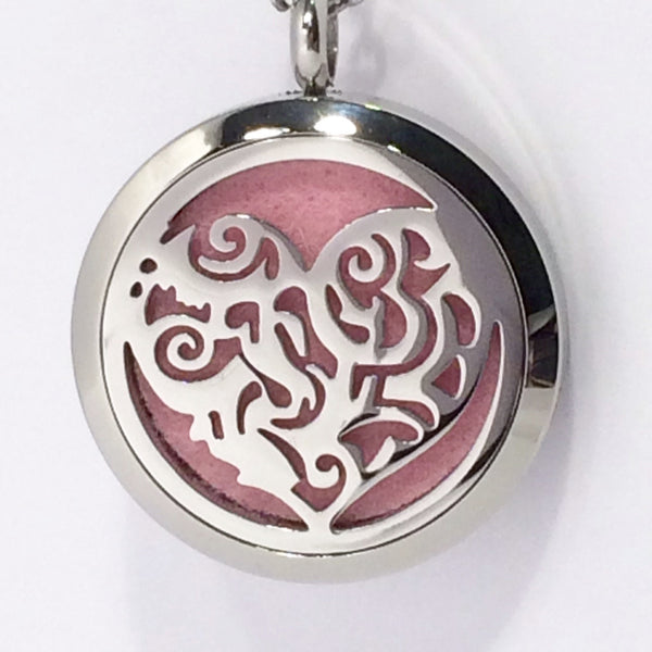 Aromatherapy Diffuser Locket (Pendant) Heart 30mm