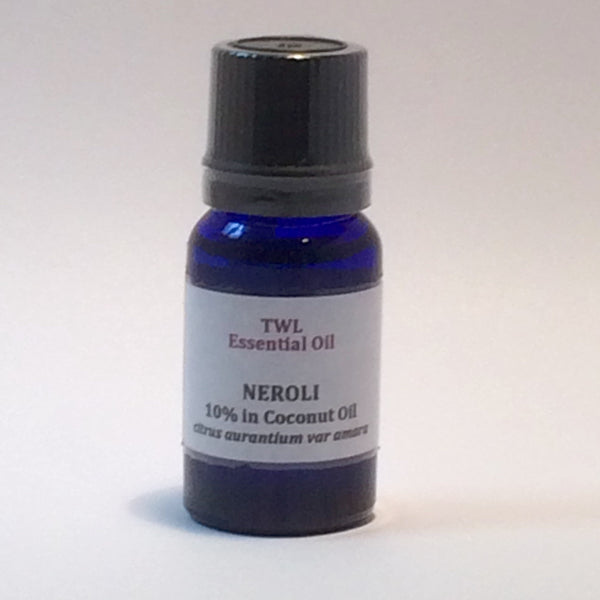 Neroli 10% (in Coconut) Essential Oil 10ml