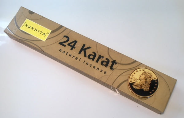 Nandita 24 Karat Incense Sticks 15g