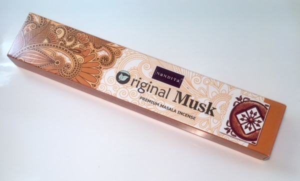 Nandita Original Musk Incense Sticks 15g
