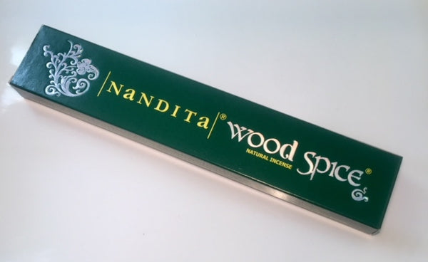 Nandita Wood Spice Incense Sticks 15g