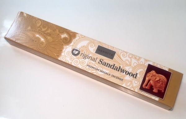 Nandita Original Sandalwood Incense Sticks 15g