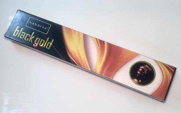 Nandita Black Gold Incense Sticks 15g