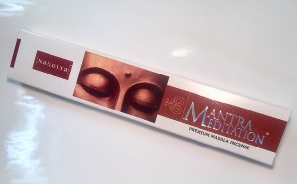 Nandita Mantra Meditation Incense Sticks 15g