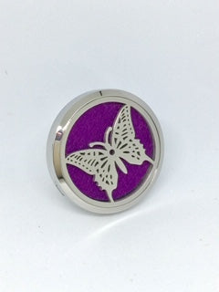 Aromatherapy Car Diffuser Butterfly 38mm