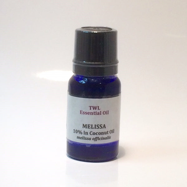 Melissa 10% (in Coconut) Essential Oil 10ml