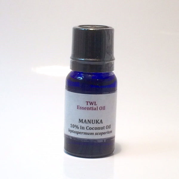 Manuka 10% (in Coconut) Essential Oil 10ml