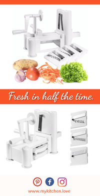 Deluxe Tri-Blade Vegetable Spiralizer