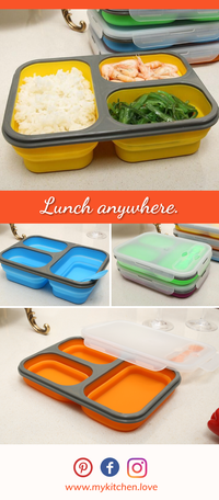 Deluxe Collapsible Lunch Box