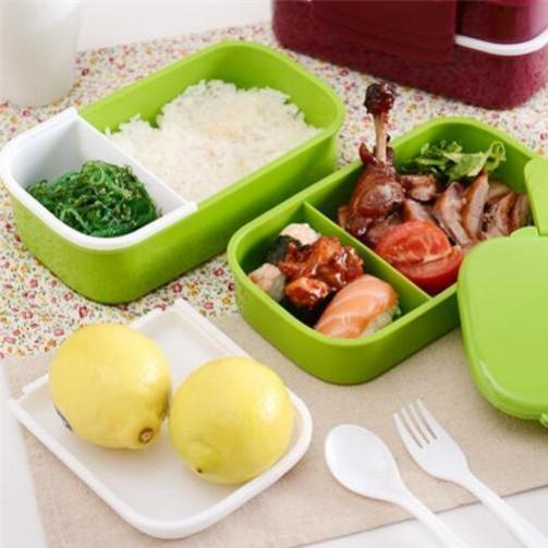 Essential Double Layer Lunch Box