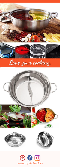 Exclusive Dual Cooking Pot