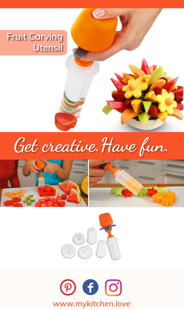 Deluxe Fruit Carving Utensil