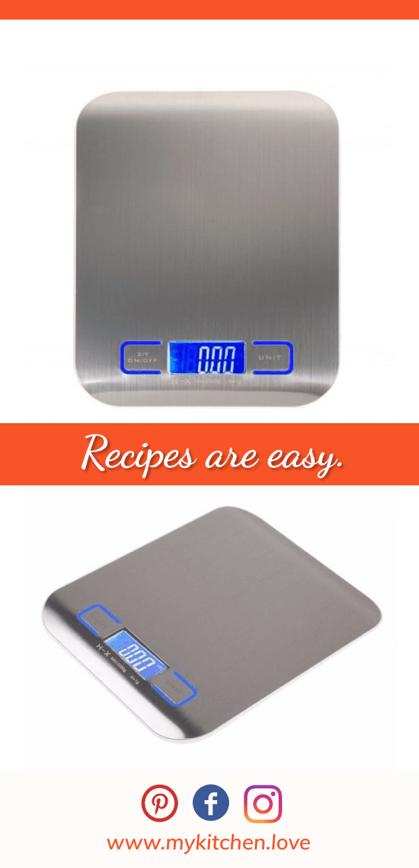 Exclusive Digital LED Kitchen Scale