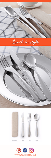 Premium Travel Dinnerware Set