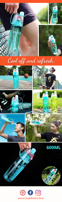 Exclusive Spray Sports Water Bottle