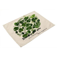Premium Green Leaf Linen Collection