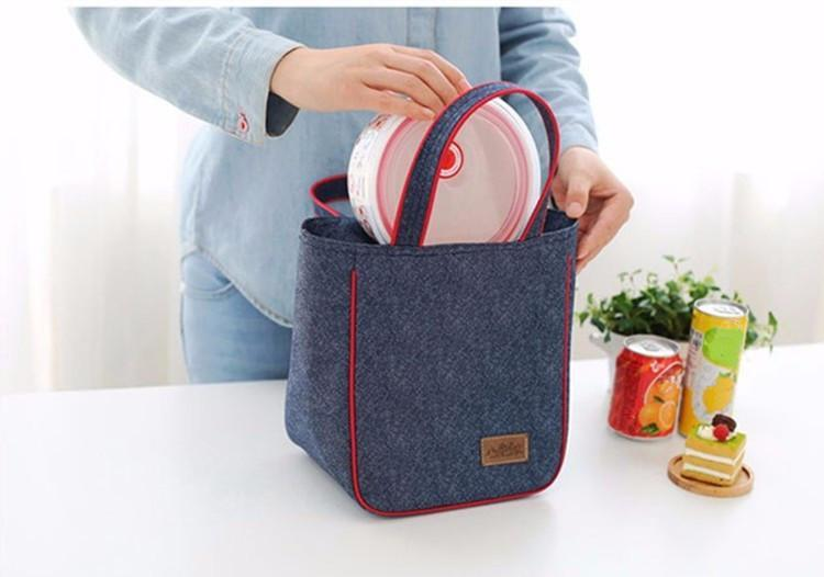 Denim Edition Thermal Lunch Coolers