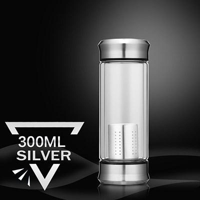 Premium Water Bottle with Tea Strainer