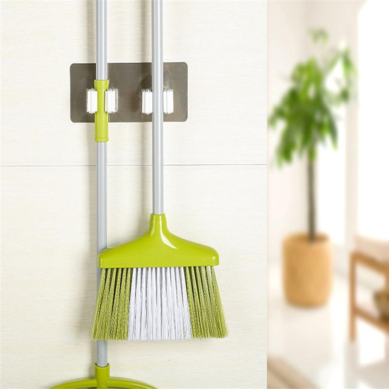 Essential Mop and Broom Rack