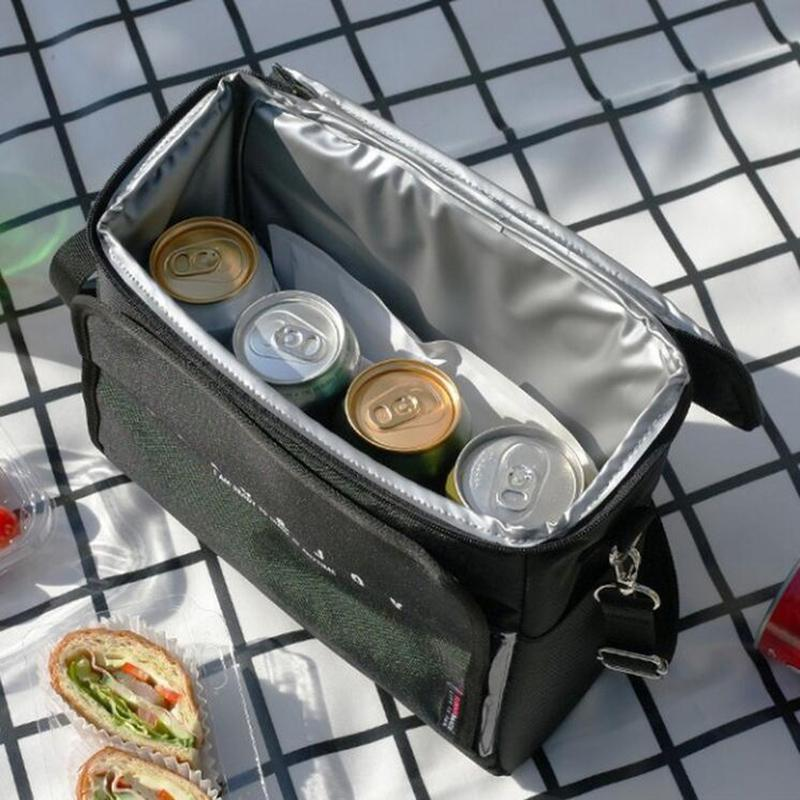 Premium Black Cooler Bag