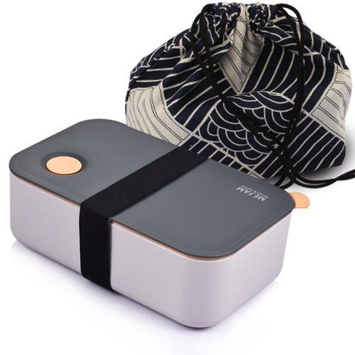 Deluxe Sub-Grid Bento Lunch Box