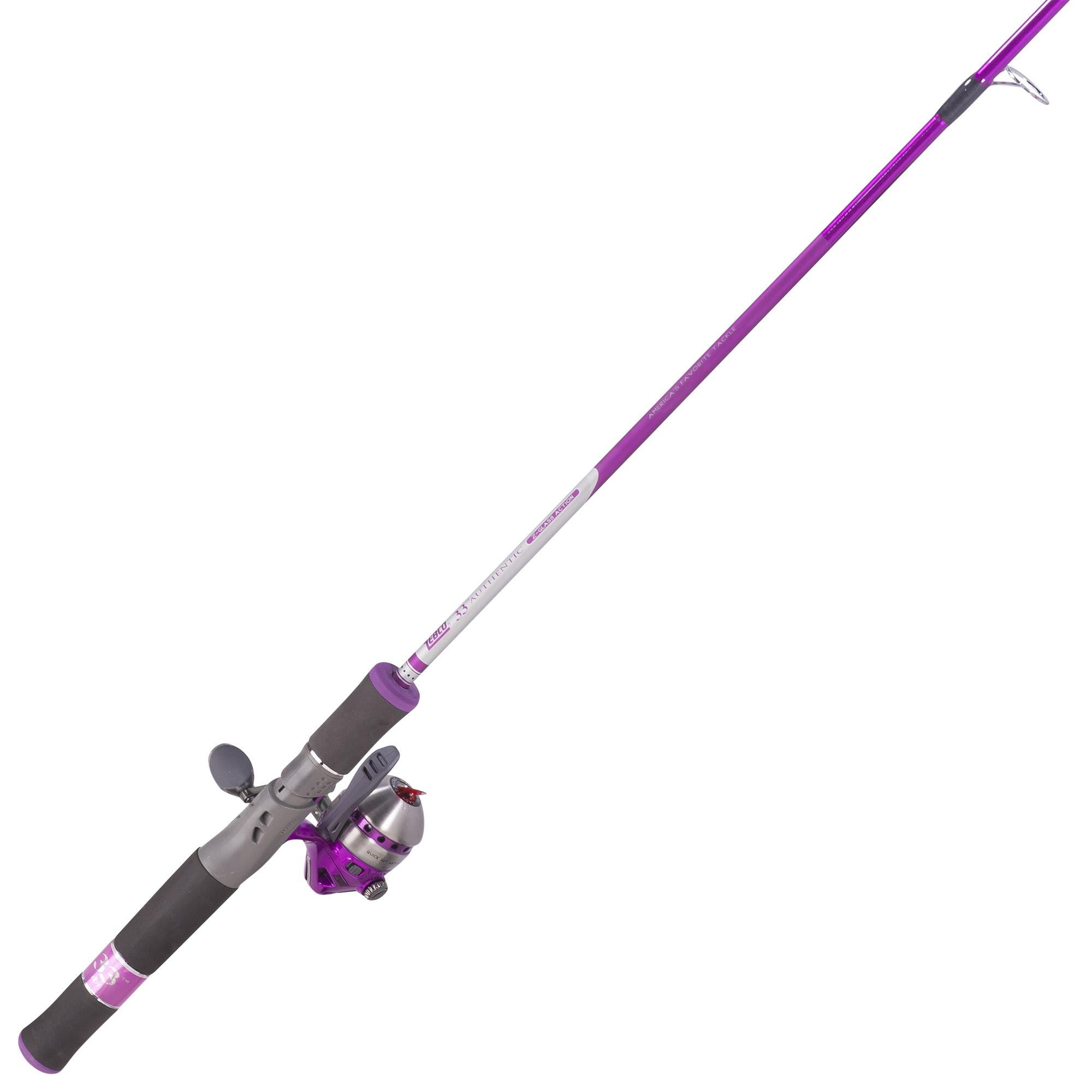 33 Micro Spincast Combo - Ladies, Ultralite Triggerspin, 5' Length, 2 Piece